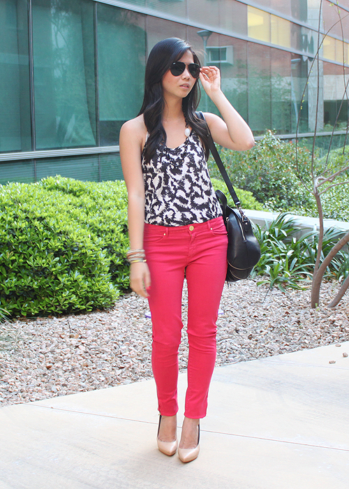 jenny-in-jacquard-hot-pink-pants-1