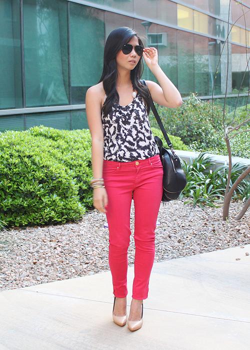 jenny-in-jacquard-hot-pink-pants-1