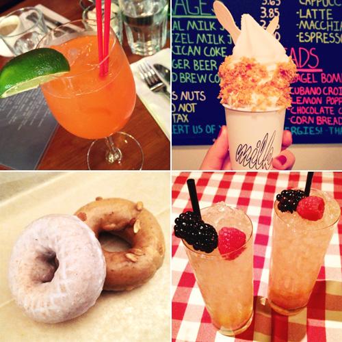 Jenny in Jacquard; NYC fashion blogger; style blog; Instagram; NYC; food and drinks; Doughnut Plant; Momofuku Milk Bar