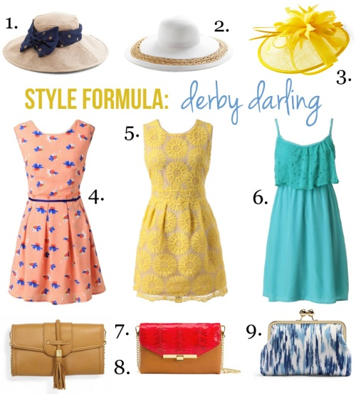 Skirt The Rules Blog; NYC fashion blogger; style blog; shopping collage; summer dresses; floppy hats; Modcloth On Holiday Hat; Modcloth Vinyard Vacation Hat; Modcloth Tilt the End of Time yellow fascinator; Ruche Blossoming Creativity Print Dress; Ruche St. Claire Embroidered Yellow Floral Dress; Ruche Current Rush Eyelet turquoise dress; C. Wonder Braided Tassel Pebbled Leather Clutch; C. Wonder Watersnake Tab Lock Clutch; C. Wonder Abstract Ikat Clutch